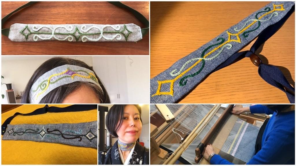 ヘンプ織り&アイヌ刺繍WS